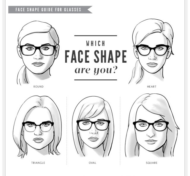 Eyeglass Frame Shapes For Oval Faces : Best Eyeglasses Frames to Fit Your Face Shape