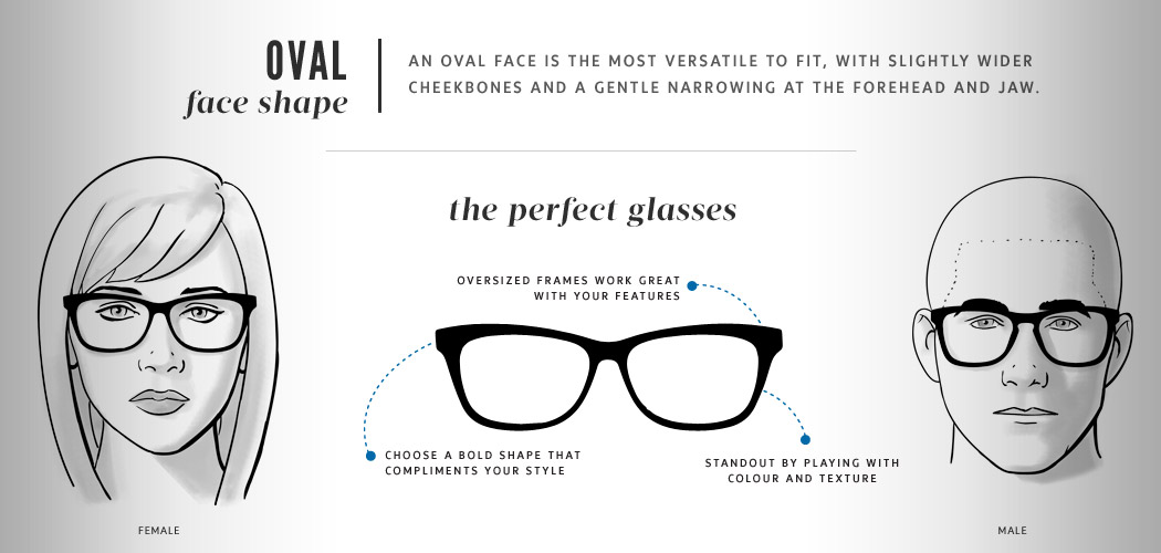 Best Eyeglass Frame For Oblong Face : Best Eyeglasses Frames to Fit Your Face Shape