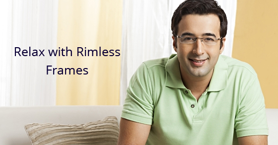 Rimless Glasses Disadvantages : Reasons to Wear Rimless Frames Eyeglasses for Unisex