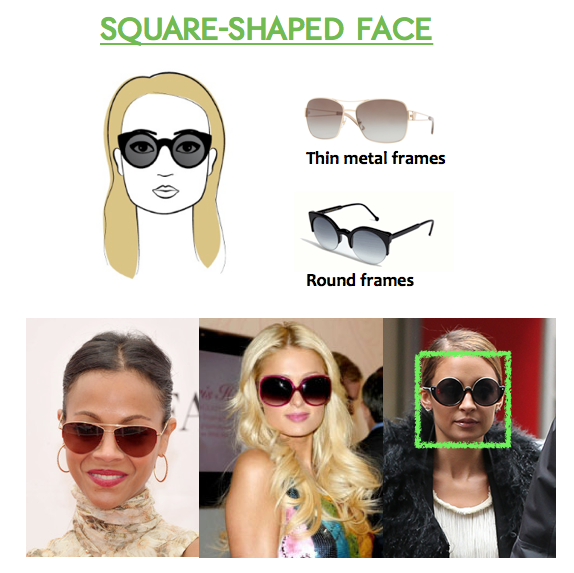 Glasses Frames For Small Square Face : The Best Sunglasses Your Face Shape at Lenspick