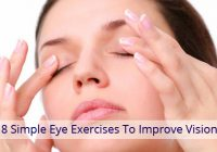 8 Simple Eye Exercises to Improve Vision